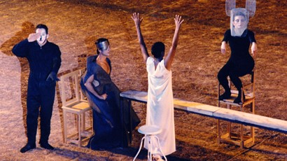 VΙΙΙ International Meeting on Ancient Drama -  First Theatre Olympics (22-27 Αugust 1995)